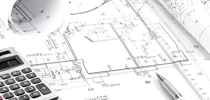 ベビー用品店の設計製図