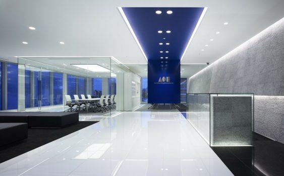 医療用品ショールームの設計デザイン